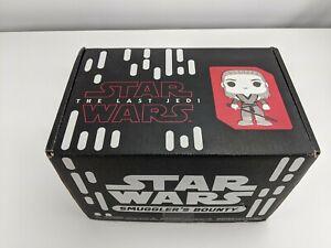 Star Wars Smuggler's Bounty The Last Jedi Box Poe X-wing MD