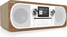 Pure Evoke C-F6 DAB/DAB+/UKW Internetradio mit CD-Player - Braun