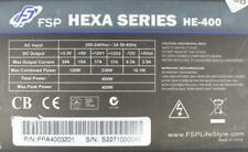 FSP Fortron/Source Hexa Series HE-400 ATX Netzteil 400 Watt   #301589