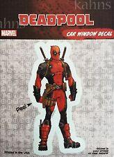 Marvel Deadpool Standard Full Figure Car Window Decal Sticker Auto - Official