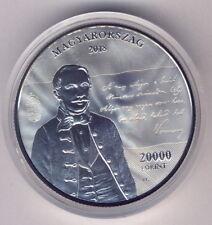 Hungary Silver 20000 Ft 2018 Proof Szózat
