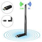 AC 1200Mbps Dualband Wireless Adapter USB 3.0 2.4/5GHz WiFi Dongle WLAN Stick