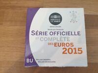 Coffret BU France 2015 8 pièces - Coffret Officiel sous Blister