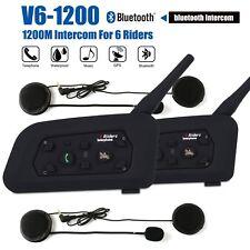 2X Motorcycle 3.0 Bluetooth Walkie Talkie Intercom Two Way Radio Helmet Headset