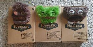 3x Fuggler Ugly Monster bundle Sasquoosh, Gnawing Terror, Old MacFuggler- New