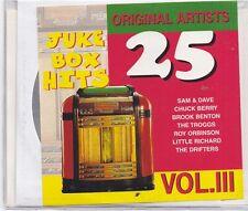 25 Juke Box Hits-Vol 3  cd album
