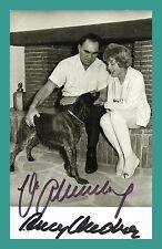 ANNY ONDRA & MAX SCHMELING | Original-Autogramm auf  Starpostkarte