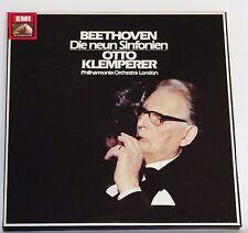 *w- 8 LP-BOX - BEETHOVEN - Die neun SINFONIEN - Otto KLEMPERER
