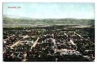 Early 1900s Aerial View of Riverside, CA Postcard *5Q(2)10