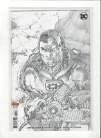 Justice League # 5 1:100 Jim Lee Sketch Variant Cover  DC Comics NM/M