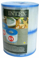 Intex Filter Cartridges S1 29001 Replacement Purespa Pool 2/4/10/20 Piece