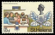 ST. HELENA 215 (SG232) - School Broadcasting and Cabbage Tree (pa26536)