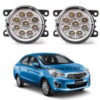 LED Fog Driving Lamp Spot Light For Mitsubishi Attrage Mirage G4 Sedan 2012-2020