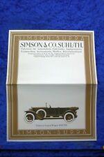 Simson Supra 1926 Prospekt (E#135) Nachdruck Archiv Verlag