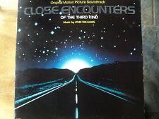 Close Encounters Of The Third Kind 1977 Original movie soundtrackmusic vinyl