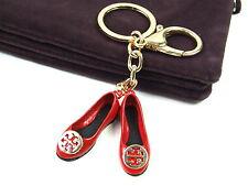 Gold Ballet Ballerina Shoes Keyring Dangling Rhinestone Diamante Handbag Charm A