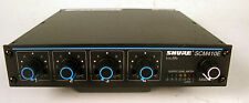 Shure SCM410E Four Channel Automatic Microphone Audio Mixer  Tested and Working