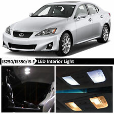 16x White Interior LED Lights Package for 2006-2012 Lexus IS250 IS350 ISF
