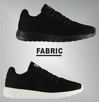 Mens Fabric Lace Fastening Padded Ankle Calzini Mesh Trainers Sizes from 7 to 13
