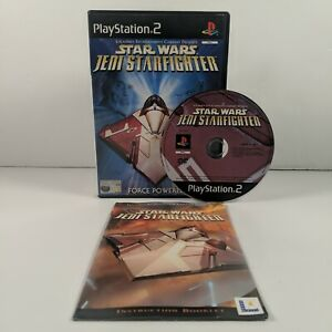 Star Wars Jedi Starfighter - PlayStation (PS2) - PAL - Complete - Free P&P