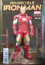 Invincible Ironman #1 Cosplay Variant Cover Comic Book NM