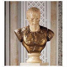 Julius Caesar Roman Sculpture Bust Replica Reproduction Statue