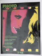 (PRL) PHOTO TECHNIQUE INTERNATIONAL 3/86 1986 NIKON F501 N2020 FUJICA GX 680