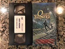 Quiet Thunder Vhs! 1988 Africa Action!