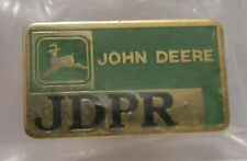 *John Deere Jdpr Hat Lapel Pin Leaping Deer Logo Farm Ag Badge Collectible New!