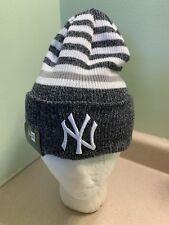 d2e36062b67 MLB NEW ERA NEW YORK YANKEES STRIPED CHILL CUFFED KNIT HAT OSFA