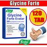 Evalar Glycine Glicin Forte 120 TAB | 300 MG |Reducing nervous stress |EXP 06/22