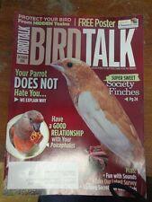 *BIRD TALK MAGAZINE Oct 10 Poicephalus Senegal Meyers Society Finches Enrichment