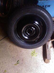 2011 - 2016 Lacia Ypsilon Space Saver Spare Wheel & Tyre + Jack & Wheel Spanner