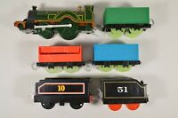 LOT of 6 Thomas & Friends Trackmaster Cargo Cars Glow Wheels Tenders etc