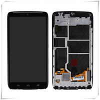 For Motorola Droid Turbo XT1225 XT1254 LCD Touch Digitizer Replacement W/Frame