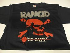 Rock T Shirt ~ Authentic Vintage Rancid One Shot One Kill ~ Xl ~ New