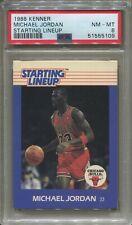 MICHAEL JORDAN, Bulls - 1988 Starting Lineup SLU: PSA NM-MT 8, Perfect Centering