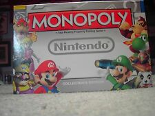 Monopoly Nintendo Collector's Edition USAOPOLY Complete Used Good Condition