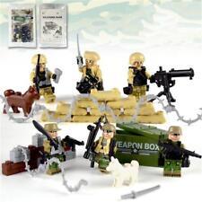 Military Battle Combat Soldier Army Building Blocks Bricks Figures Models Toys