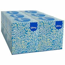 Kleenex White Facial Tissue Pop Up Box 2 Ply 95 Tissues per box 6 boxes