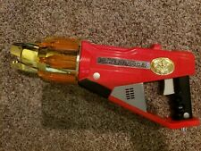 Power Rangers Wild Force Red Gun 2001 Bandai Lion Blaster - Tested FREE SHIP