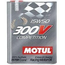 MOTUL OLIO MOTORE 300V COMPETITION 15W50 2 LITRI