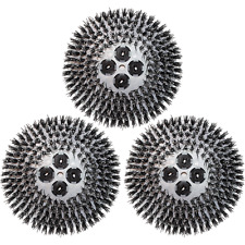 "19"" Cimex Tynex Abrasive Brushes - Set of 3 - 4816"