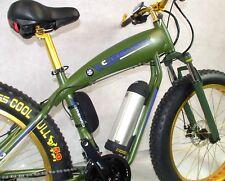 Electric Fat Tyre Mountain Bike, ebike