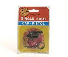 Vintage Big Bang Single Shot Cap Pistol Revolver Gun Keychain