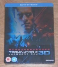 Terminator 2 - 3D - Steelbook - blu-ray. New and sealed, UK release.