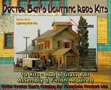 Lightning Rods Kits (10 Kits) Doctor Ben's Scale Fine- HOn30/HOn3/1;87 *NEW!*