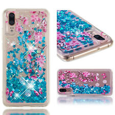 Anti Scratch Soft Liquid Glitter Quicksand TPU Case For Various Phone + Care