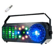 American DJ ADJ Boom Box FX1 4-FX-IN-1 LED Derby Wash Beam + Red Green Laser