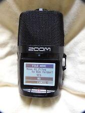 Zoom H2n Grabador De Campo A Mano, X/y, a mediados de lado, sonido envolvente de canal 2 y 4 Canal Sur